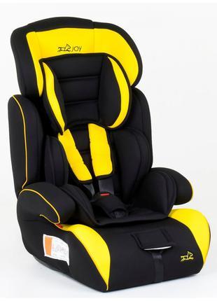 Автокресло-Бустер 6960 от 9-36 кг желто-черное