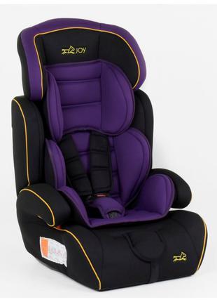 Автокресло-Бустер 8577 от 9-36 кг фиолетовое