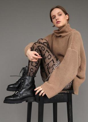Ботинки женские зимние в стиле гранж софт basconi