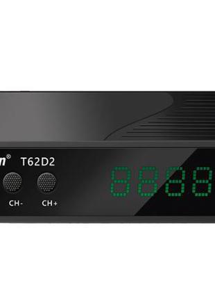Ресивер DVB-T2/C World Vision T62D2 с кабельным тв и интернет
