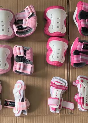 Детская защита explore amz-150 для роликов, скейтов, самокатов, в
