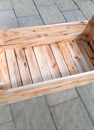Ящик деревянный для орехов, лука, чеснока.
