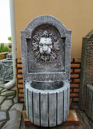 Декоративний фонтан для вулиці. Фонтан пристінний