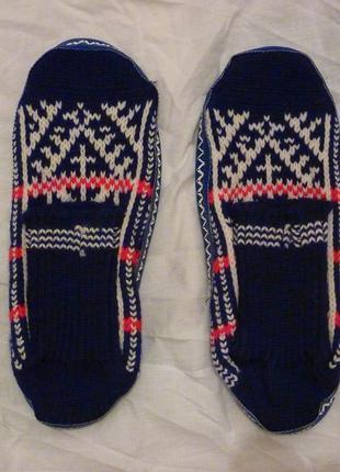 Носки-тапочки.