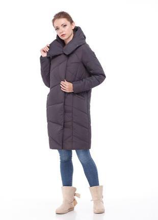 Зимнее пальто пуховик