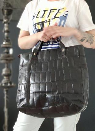 Joop! большая сумка из натуральной кожи.