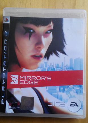 Коробка от Mirror's Edge (Не Игра) лицензия PS3 Playstation 3 ПС3