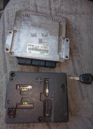 ЕБУ електронный блок управления двигателем Рено Сценик 1.9 сdi