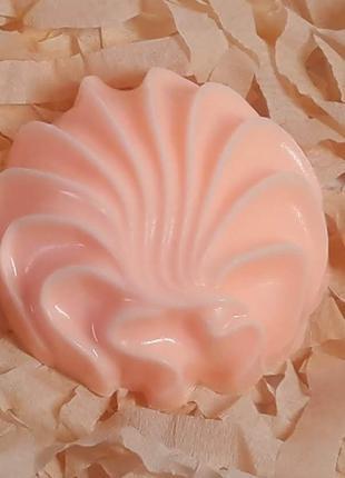 Мыло ручной работы Зефир с эфирным маслом апельсина