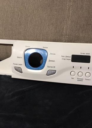 Передняя панель стиральной машины lg