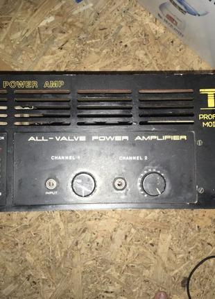 Усилитель TON PN 803P / Колонки PAS Acoustics