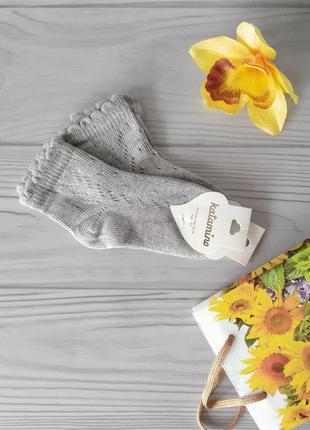 Ажурные носки девочкам. турция, katamino