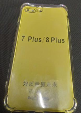 Силиконовый чехол для Iphone 7 plus,8 plus