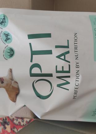 Optimeal 4 кг для щенков всех пород с ягненком