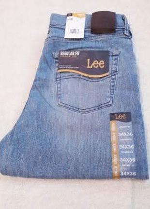 Фирменые джинсы LEE Men's Regular Fit Straight Leg Jean.