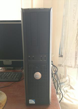 Офисный системник Dell Optiplex 780, 2 ядра, 4GB DDR3, 320GB HDD