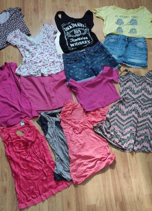 Пакет вещей, одежды на лето на девушку xs-s