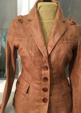 Куртка натуральная лайковая кожа