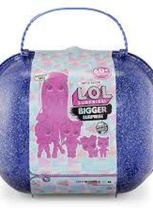Большой чемодан Лол Винтер Диско с эксклюзивной куклой ЛОЛ ОМГ...
