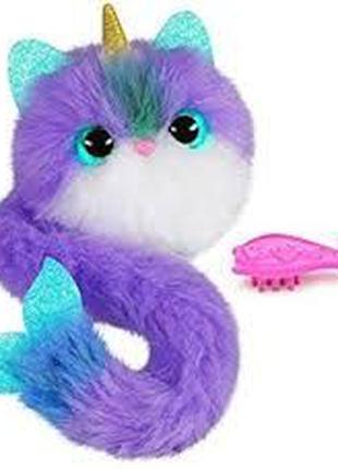 Интерактивная игрушка котенок Помсис Русалочка единорог Pomsies