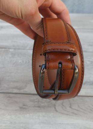 Мужской кожаный пояс