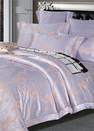 Элитное постельное белье Viluta Сатин жаккард Tiare 1920 Семейный