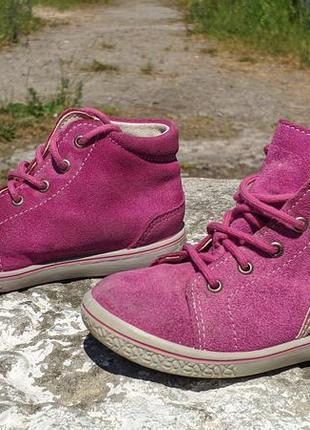 Замшеві черевички, ботінки pepino by ricosta