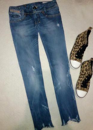 Тренд 2018!!!👖 джинсы с не обработанными краями diesel