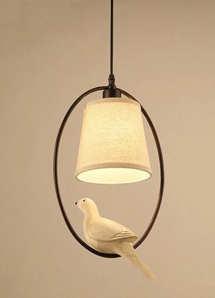 Светильник  с голубем