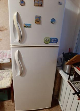 Холодильник LG GR-S392QVC (No frost) бежевый