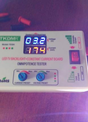 TD3H. Многоцелевой тестер для ТВ-подсветки и  LED-драйверов