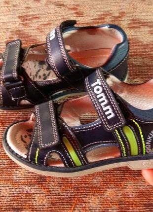 Босоножки, ортопедическая детская обувь tomm, orthopedic