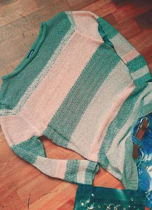 Пуловер striped jumper  от gerry weber оригинал