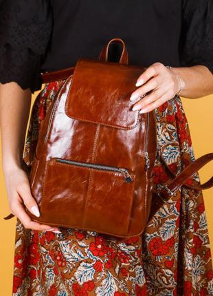 Рюкзак натуральная кожа 902699