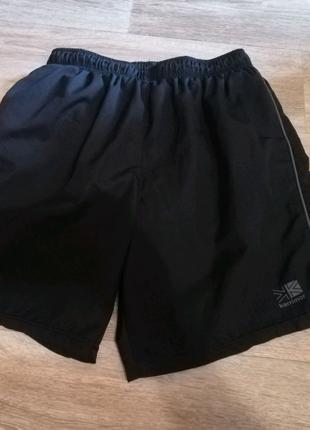 Мужские спортивные шорты Karrimor X 3inch Black Running. Размер M