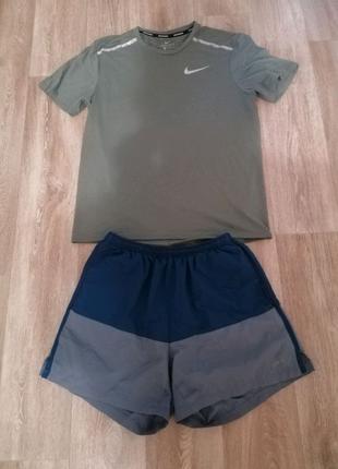 Шорты и футболка Nike Dri-Fit Original. Размер M. Летний костюм.