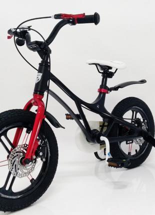 Детский велосипед 14 дюймов Mercury магниевая рама черный