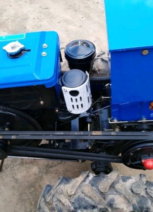 Мотоблок Зубр дизель,8 лс.электро привод (стартер)