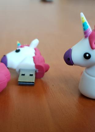 Флешка Единорог USB 32 Гб