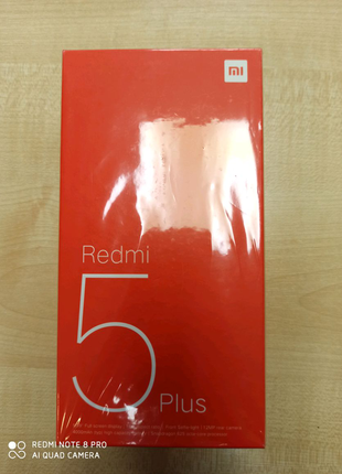 Xiaomi redmi 5plus 4/64