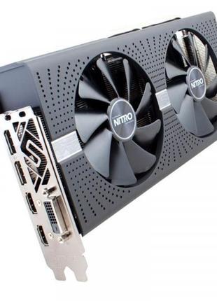 Видеокарта AMD Radeon RX 580 4GB GDDR5 Nitro+ Sapphire