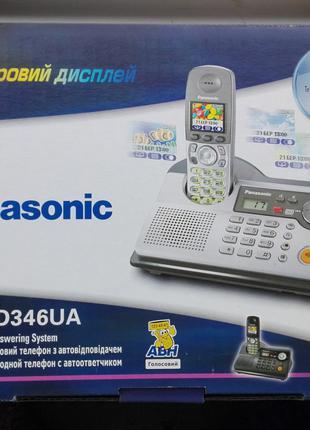 Радиотелефон Panasonic с АОН и автоответчиком и в оригиналльной у