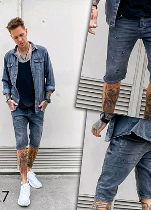 Шорты джинсовые, мужские