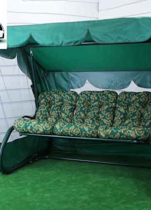 Гойдалка садова Таїті 021 розкладна з москітною сіткою