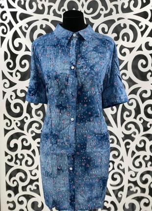 Платье-рубашка 58 размер
