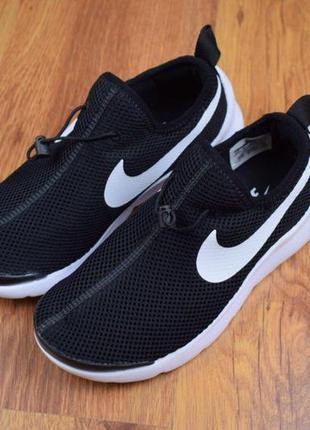 👟 кроссовки nike air max tavas черные на белой / наложенный пл...
