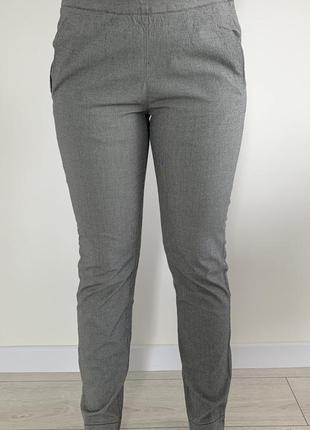 Штани жіночі, сірі штани, брюки, серые классические брюки.