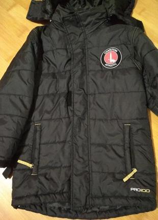 Осенняя куртка для мальчика 7-8 лет
