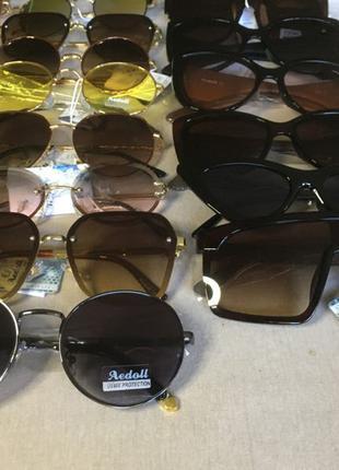 Солнцезащитные очки ОПТ РОЗНИЦА