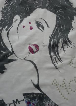 Стильная майка футболка кофта с принтом от morgan